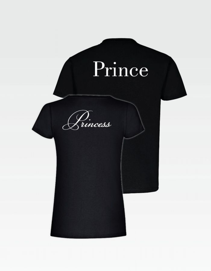 "Partner T-Shirts ""Princess"" - ""Prince"""