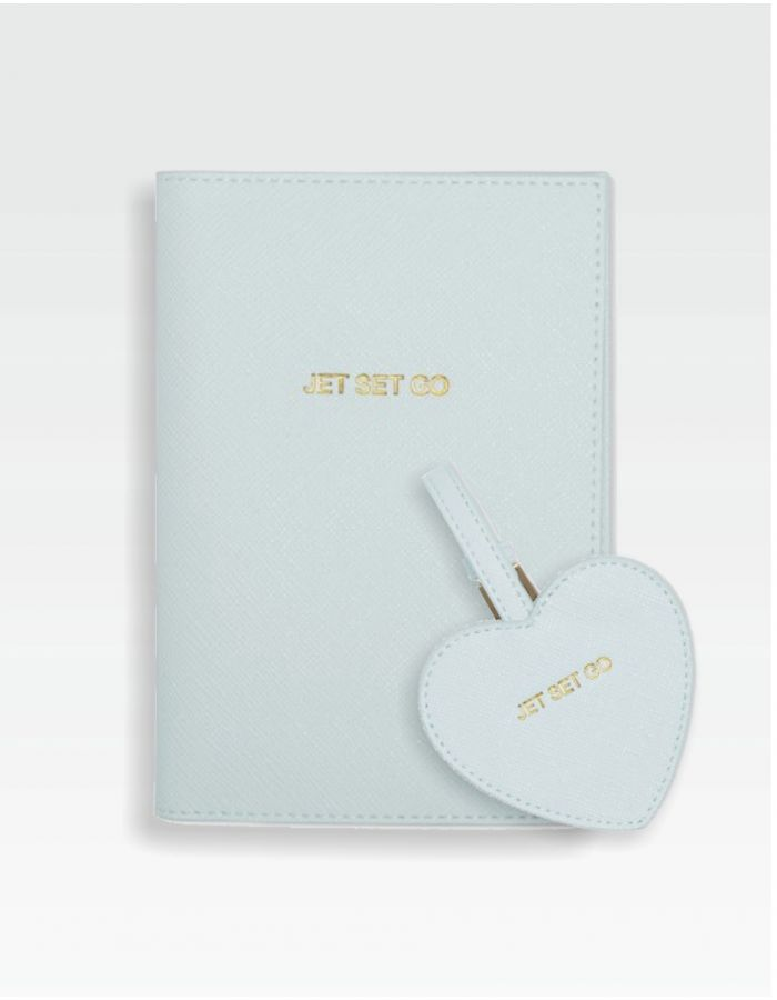 Reise-Set - Passport Cover & Luggage Tag