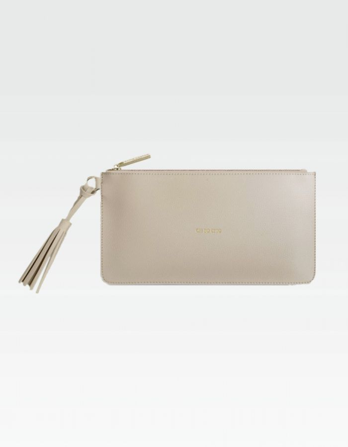 Tassel Pouch - Oh so chic