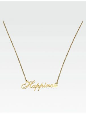 """Halskette """"Happiness"""" - Gold"""
