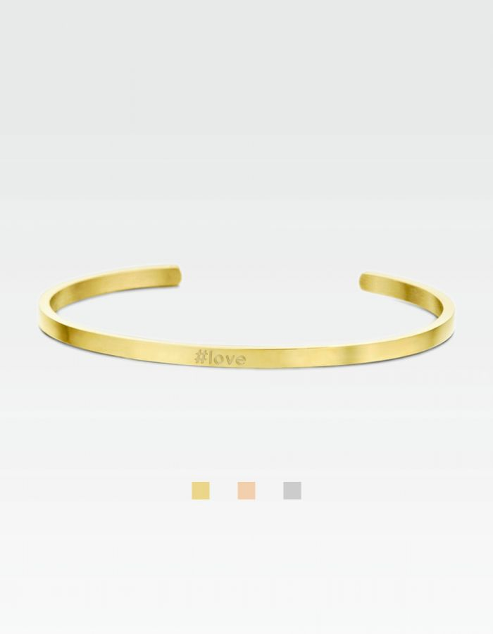 Statement-Armreif - #love