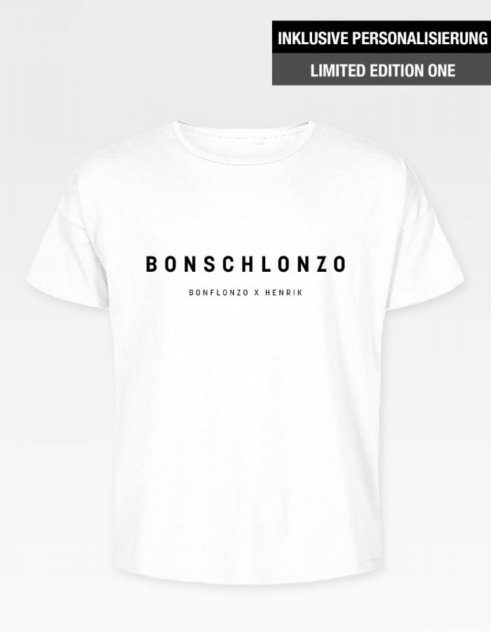 "Bonflonzo T-Shirt ""Bonschlonzo"" - Pure Design"