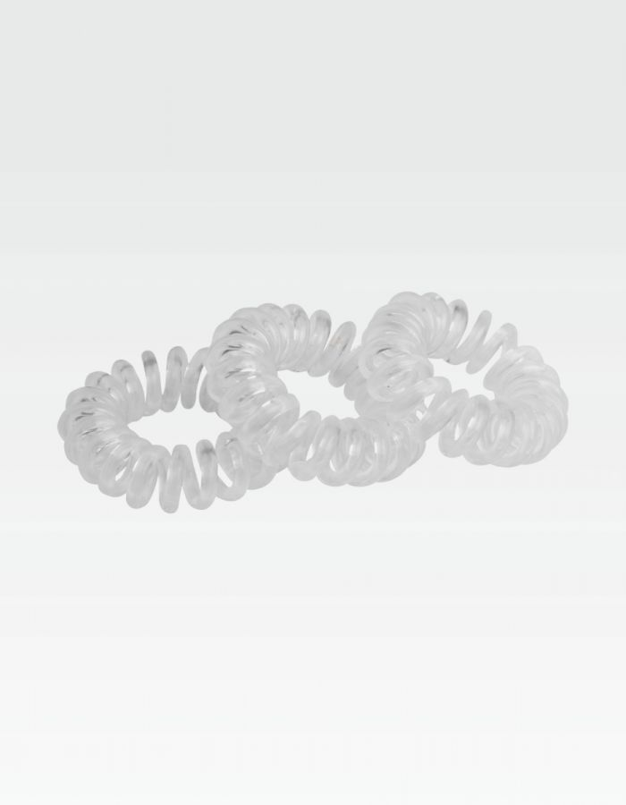 Curly Loops, klar - Set 3 Stk.