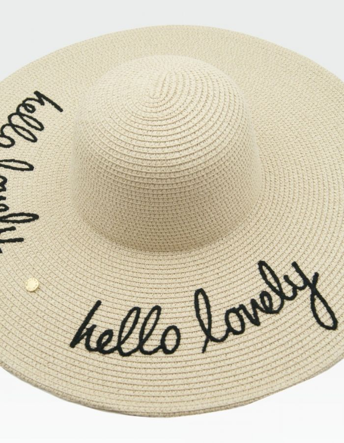 Straw Hats - Hello lovely
