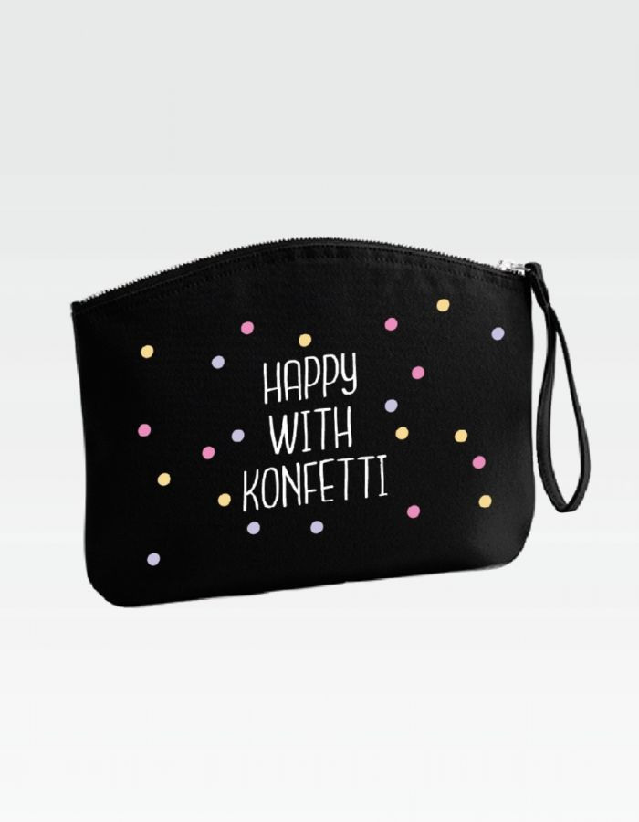 "Kosmetiktasche ""happy with konfetti"""