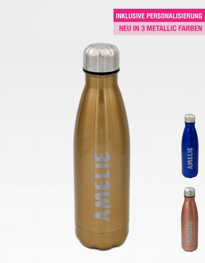 Christmas Edition: #Lieblingsflasche Active Metallic - Identity Design