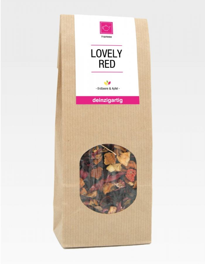 "Tee ""Lovely Red"", 100g"