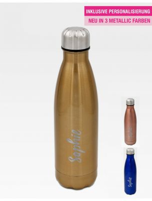 #Lieblingsflasche Active Metallic - Good Vibes Design